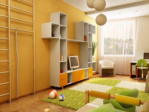 חדר נוער מעוצב